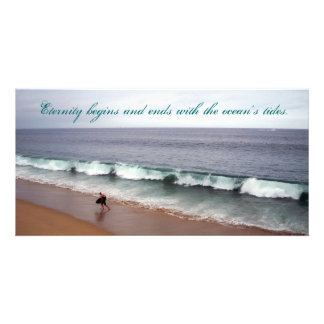 Eternity Beach Photo Card