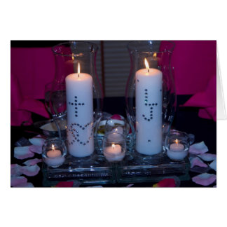 Eternity Candles Card