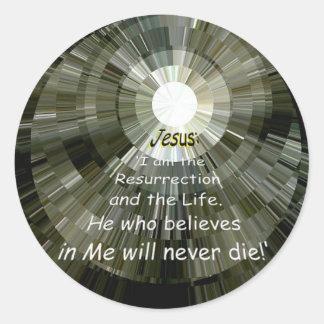 Eternity! Classic Round Sticker