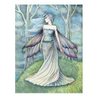 Eternity Fairy Postcard by Molly Harrison