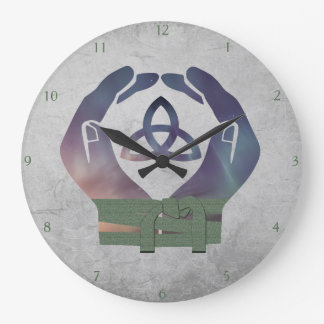 Eternity Handfasting Clock for Pagan Couples