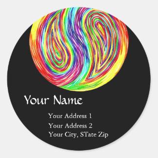 """""""Eternity III"""" Address Label"""