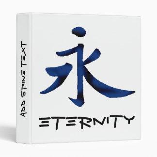 """Eternity"" in Chinese Binder"