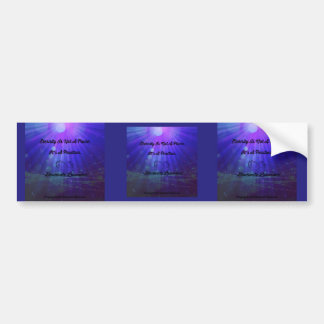 Eternity Is Not A Place by Diamante Lavendar Bumper Sticker