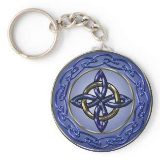 Eternity Knot Keychain