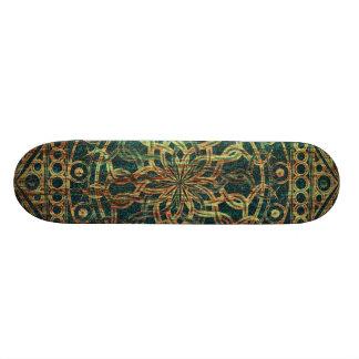 Eternity Mandala Weathered Skateboard Deck