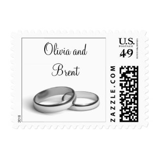Eternity Personalized Stamp (white)