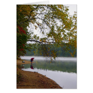 Eternity Remains at Walden Pond Card