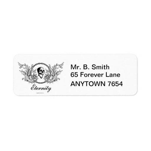 Eternity Return Address Label