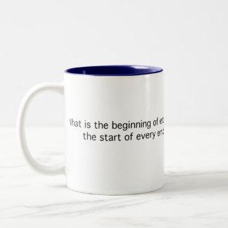 Eternity Riddle Two-Tone Coffee Mug