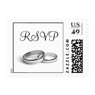 Eternity RSVP Stamp (white)
