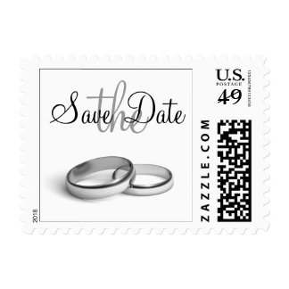 Eternity Save the Date Stamp (white)