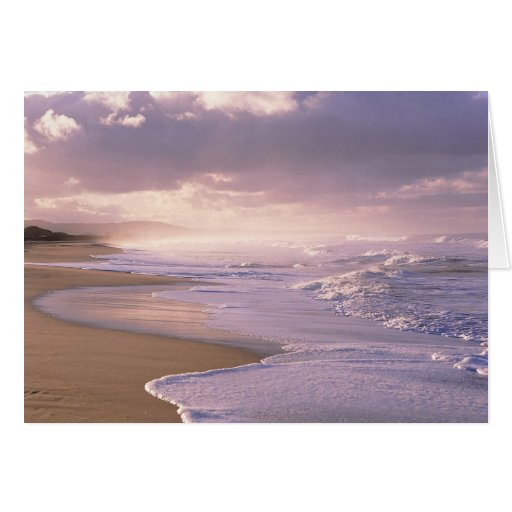 Eternity, Scenic Beach Sunset Greeting Card