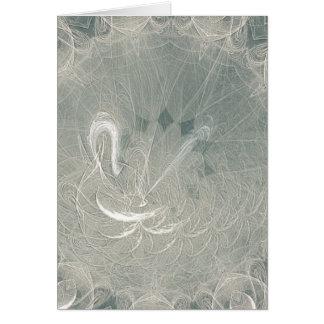 Eternity Swan Wedding Greeting Card