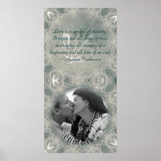 Eternity Swan Wedding Print