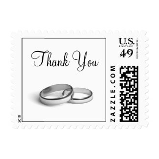 Eternity Thank You Stamp (white)