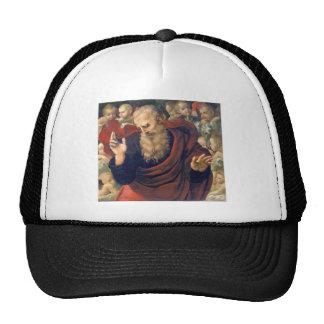 eterno e angeli by Raffaello Sanzio da Urbino Trucker Hat
