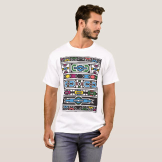 ETH001 - Ndebele House Pattern T-Shirt