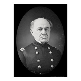 Ethan Allen Hitchcock Daguerreotype 1851 Poster