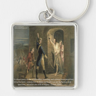Ethan Allen Wisdom Quote Gifts, Tees & Cards Keychain