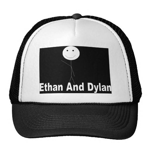 Ethan AND Dylan Logo Trucker Hat