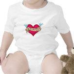 Ethan - Custom Heart Tattoo T-shirts & Gifts
