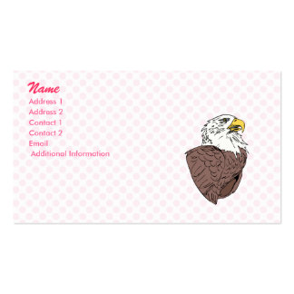 Ethan Eagle Double-Sided Standard Business Cards (Pack Of 100)
