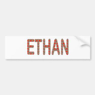 ETHAN nom name STICKERS Shirts n GIFTS NavinJOSHI Bumper Stickers