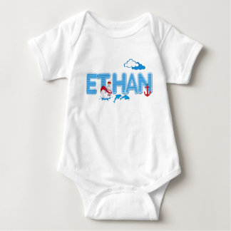 ETHAN / personalised name illustration Tees