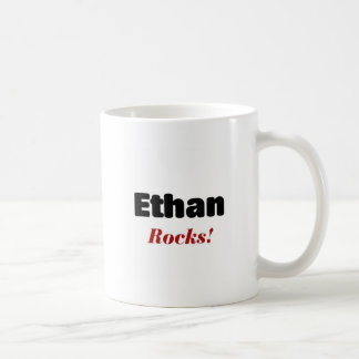 Ethan rocks coffee mug