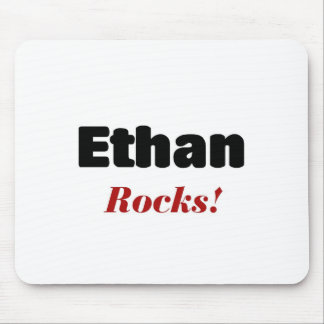 Ethan rocks mouse pad