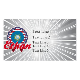 Ethan, SD Double-Sided Standard Business Cards (Pack Of 100)