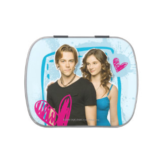 Ethan & Tara Jelly Belly Candy Tin