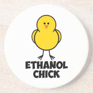 Ethanol Chick Drink Coaster