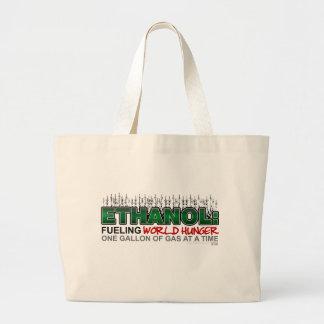 Ethanol: Fueling World Hunger Large Tote Bag