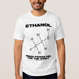 Ethanol Green Power Fuel For The World T Shirt