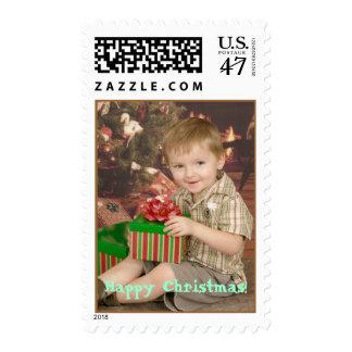 Ethan's Christmas Stamp
