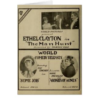 Ethel Clayton Dressler Tincher exhibitor ad 1918 Card