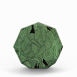Ether Formation Green Acrylic Award