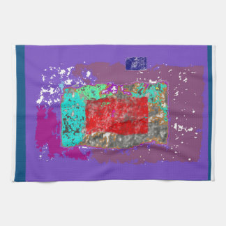 Ethereal Abstract Expressionism Design Hand Towel