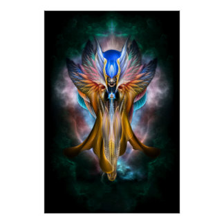 Ethereal Beauty_Arsencia_Golden Setren Arcvl Pster Poster