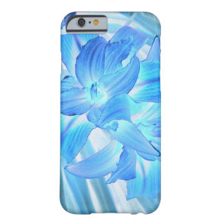 Ethereal Blue Lily, Winter Floral Fantasy Barely There iPhone 6 Case