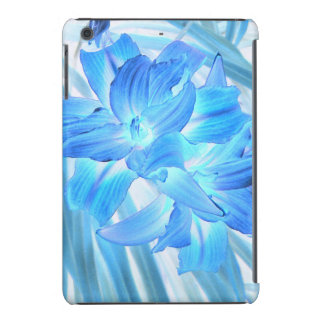 Ethereal Blue Lily, Winter Floral Fantasy iPad Mini Cases