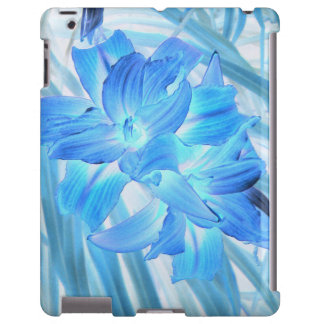 Ethereal Blue Lily, Winter Floral Fantasy