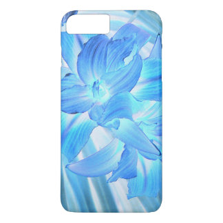Ethereal Blue Lily, Winter Floral Fantasy iPhone 7 Plus Case
