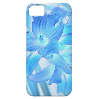 Ethereal Blue Lily, Winter Floral Fantasy iPhone SE/5/5s Case