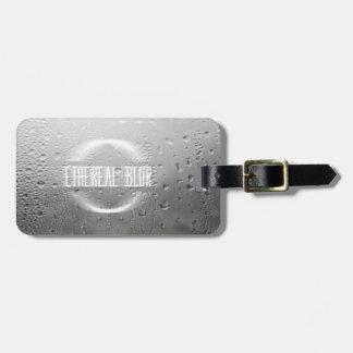 ethereal blur luggage tag