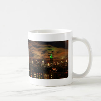Ethereal Clouds: NYC Skyline, Empire State Bldg Classic White Coffee Mug