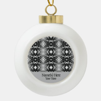 Ethereal Diamonds (Opal) Ceramic Ball Christmas Ornament