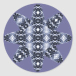 Ethereal Diamonds Star (Moonstone) Classic Round Sticker